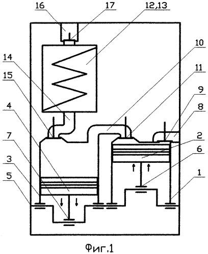 Устройство для преобразования термодинамических процессов в механическую работу