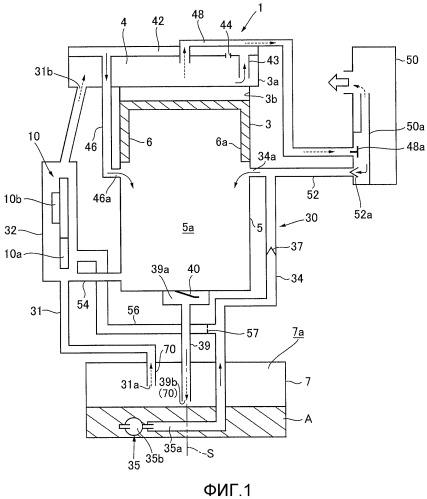 Система смазки для четырехтактного двигателя