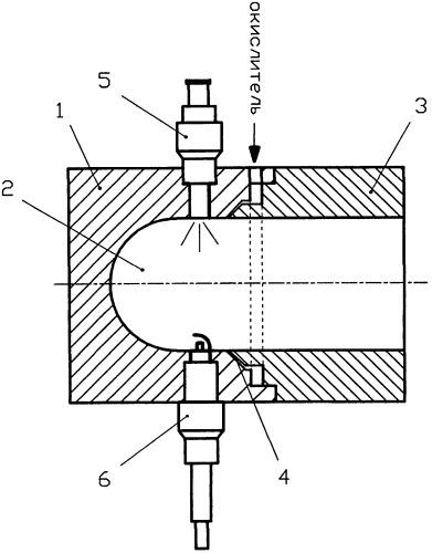 Пульсирующая детонационная установка для создания силы тяги