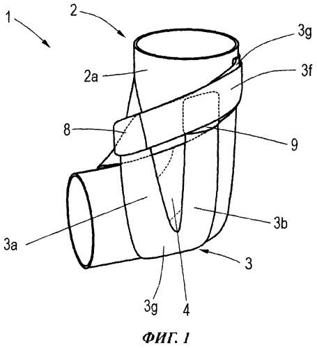 Ортопедическое бандажное устройство