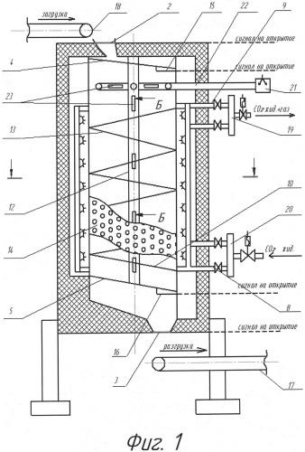 Аппарат для холодильной обработки продуктов с рециркуляцией диоксида углерода