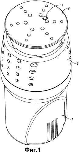 Выдачное устройство для моющего средства