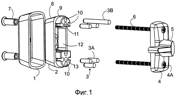 Устройство накладки для замочной скважины