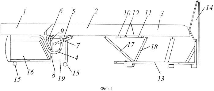 Механизм трансформации мягкой мебели