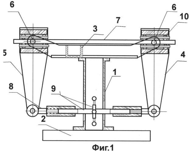 Способ получения чистого изгиба балки постоянного сечения и устройство для его осуществления