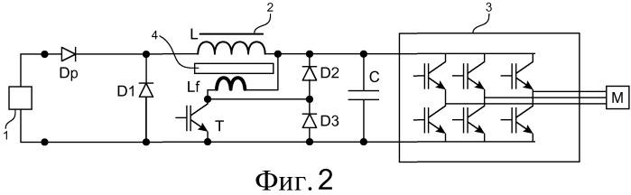 Система электрического тормоза с магнитными потерями