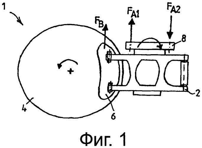 Тормозная система рельсового транспортного средства с компенсацией колебаний условий трения
