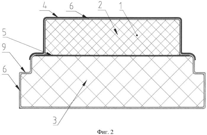 Термоизоляционная герметичная стенка емкости из полимерных композиционных материалов для сжиженного природного газа