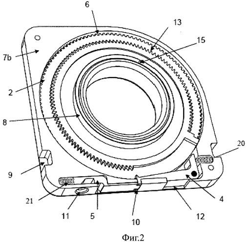Устройство и система для соединения элементов цепи, содержащих источники радиоактивного излучения