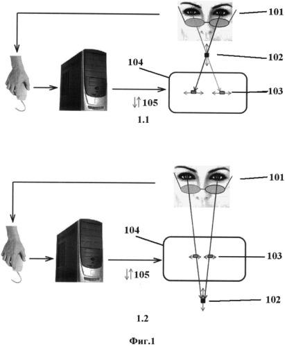 Способ исследования стереоскопического зрения
