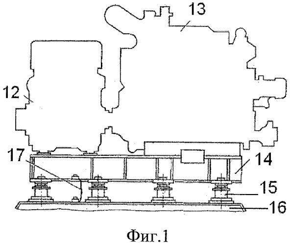 Система виброизоляции для судовых энергетических установок