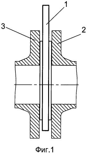 Межфланцевая заглушка