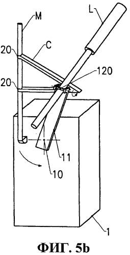 Открывающееся заграждение, снабженное устройством автоматического закрывания