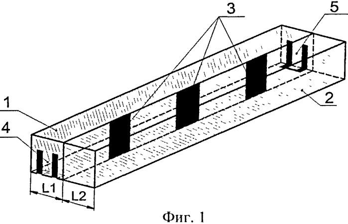 Керамический волноводный фильтр квазипланарного типа