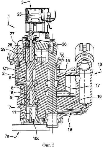 Вентиль для распределения воды и воздуха в установках распыления воды под давлением