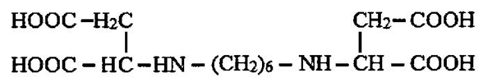 Способ синтеза 1,6-гексаметилендиамин-n, n-диянтарной кислоты