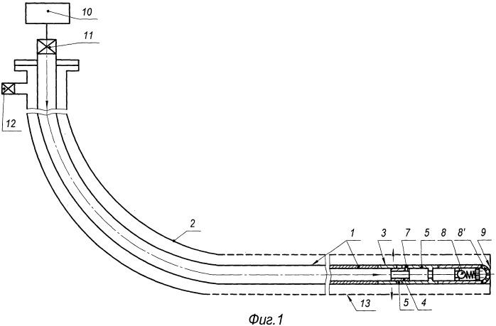 Способ обработки призабойной зоны горизонтальной скважины