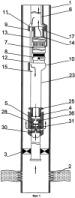 Отсекательная система для насосной скважины (варианты)