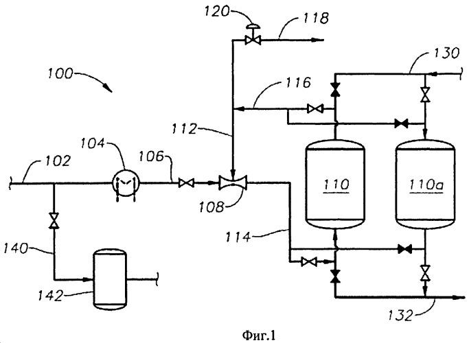 Регенерация очистительных слоев с помощью струйного компрессора в открытом контуре