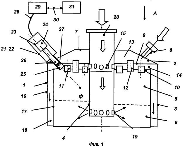 Устройство для лазерного воспламенения топлива в газогенераторе жидкостного ракетного двигателя