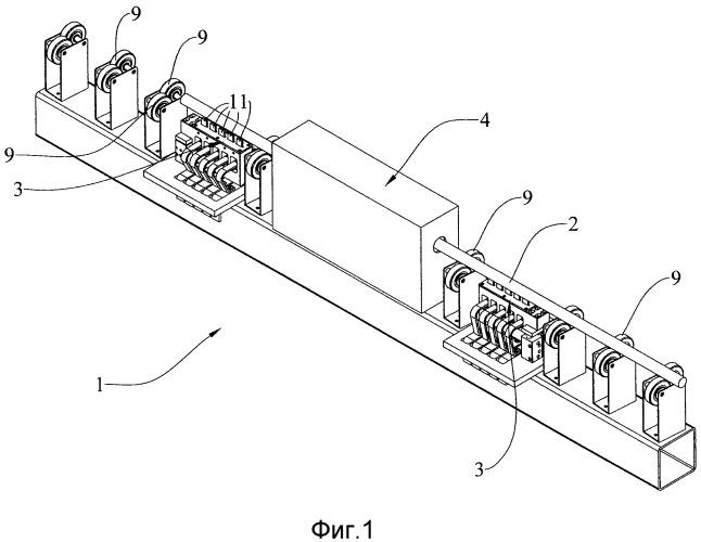 Непрерывная электролитическая поверхностная обработка стержней