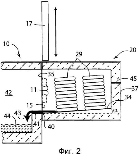 Подвижный плавильный под для металлоплавильной печи