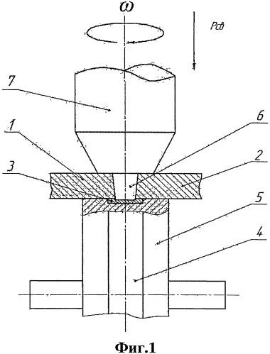 Способ фрикционной сварки с перемешиванием на опорном ролике с профильной канавкой