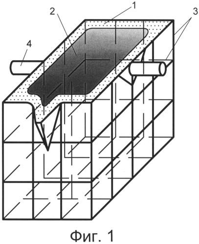 Съемный переносной футерованный тигель для индукционной плавки