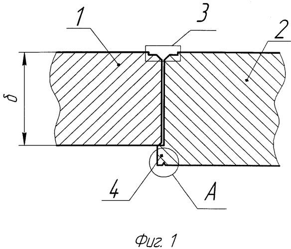 Способ формирования стыка деталей большой толщины из титановых сплавов, соединяемых электронно-лучевой сваркой