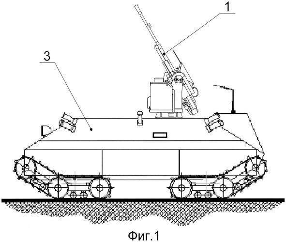Способ боевого применения мобильного комплекса дистанционно-управляемого оружия