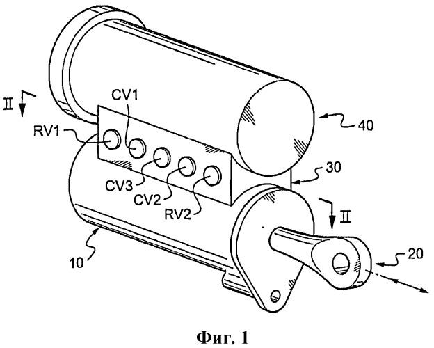 Гидравлический демпфер шимми для шасси воздушного судна