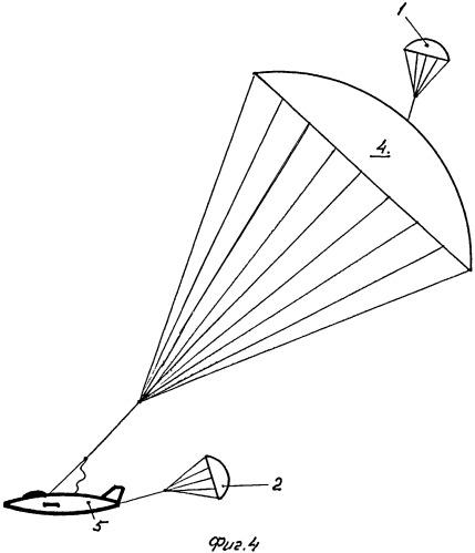 Система парашютирования и способ её работы