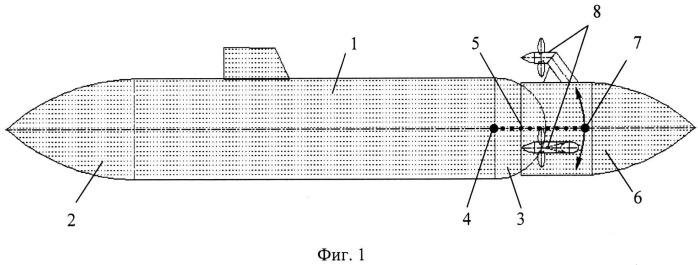 Способ повышения маневренности подводной лодки (вариант русской логики - версия 1)