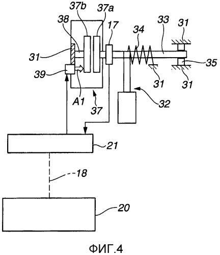 Устройство управления силой нажатия педали акселератора для гибридного транспортного средства