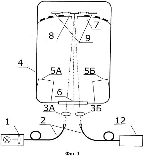 Способ измерения толщин нанометровых слоев многослойного покрытия, проводимого в процессе его напыления