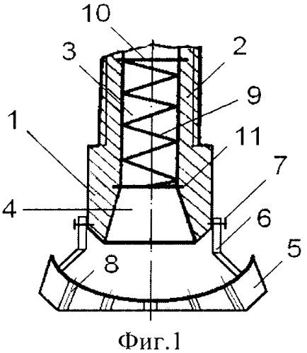 Форсунка кочетова с перфорированным распылительным диском