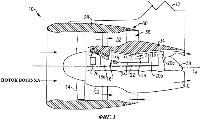 Газотурбинный двигатель (варианты)