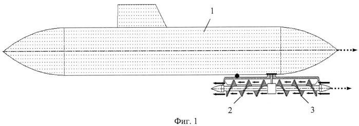 Способ повышения маневренности подводной лодки (вариант русской логики - версия 7)