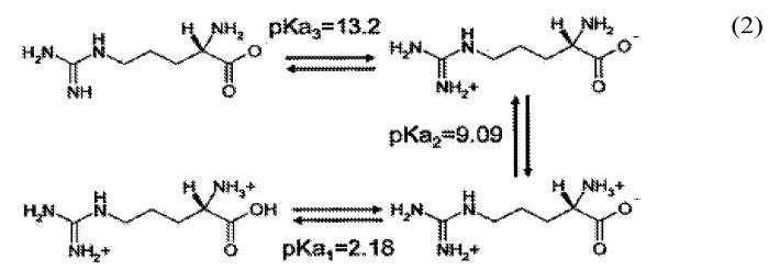 Способы получения бикарбоната аргинина при низком давлении