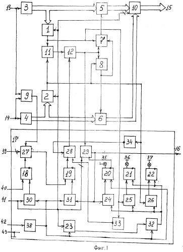 Устройство синхронного приема двоичной информации по дублирующим каналам связи