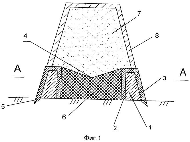 Фундамент под сооружение башенного типа