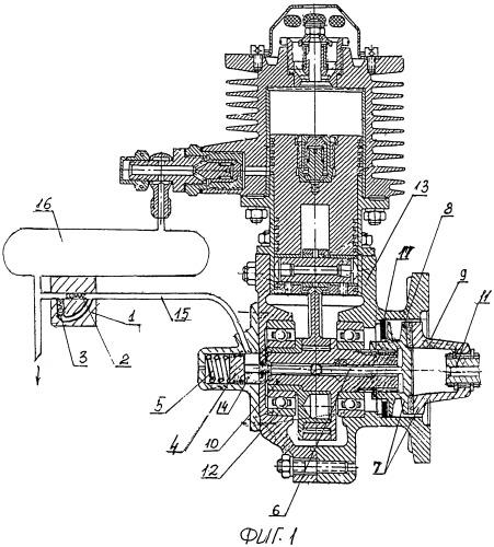 Компрессор для пневмосистем, используемых в двигателестроении