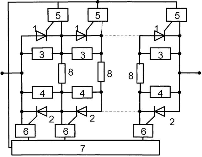 Двунаправленный высоковольтный тиристорный ключ