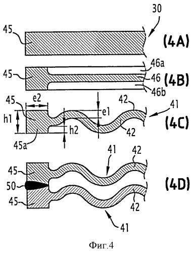 Способ изготовления набора пластин для теплообменника