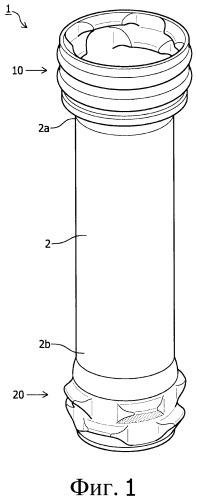 Трубчатый элемент спускной трубы, спускная труба, собранная из таких элементов, и способ сборки спускной трубы