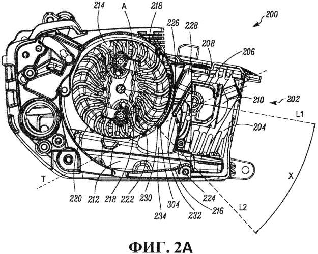 Ручное рабочее устройство с приводом от двигателя внутреннего сгорания