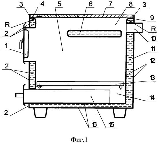 Способ изготовления корпуса отопительного аппарата с полостью для теплоносителя