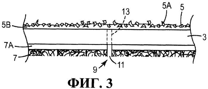 Абразивное изделие, имеющее линию пониженного сопротивления