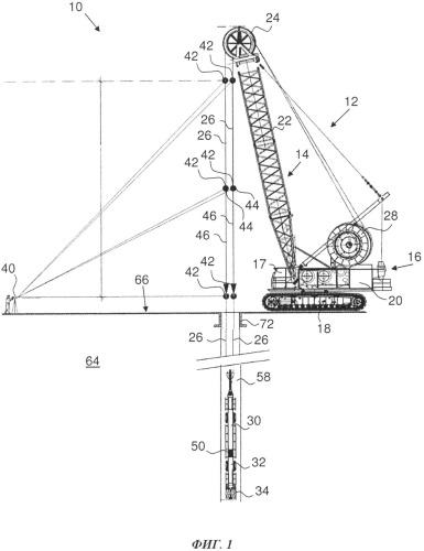 Способ и установка для сооружения элемента траншейной стены