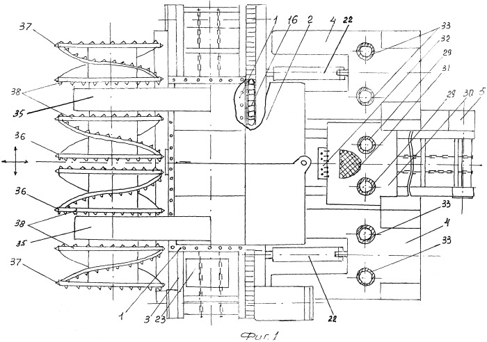 Горнопроходческий добычной блок (модуль)